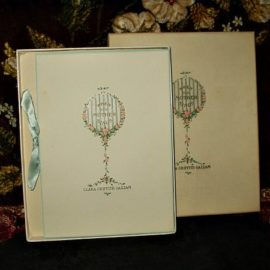 1917 When Mother Sings Baby Book In Box Clara Griffith Gazzam Poetry