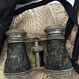 Antique Chevalier Paris Binoculars Opera Glasses