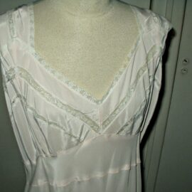 vintage rayon nightgown alberta lingerie