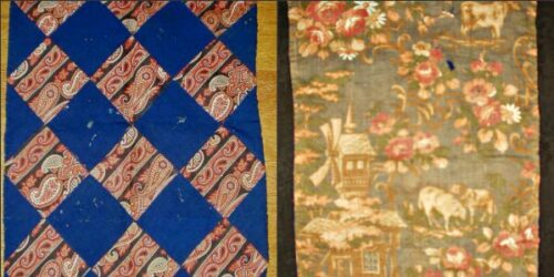 victorian small doll quilt