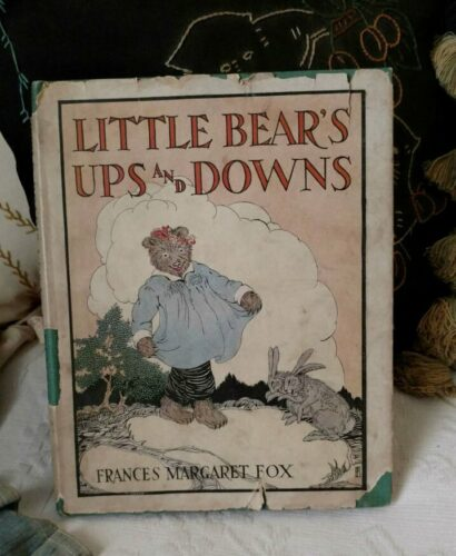 Little Bear Ups And Downs Storybook Dustjacket