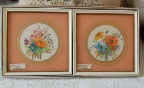 framed print floral